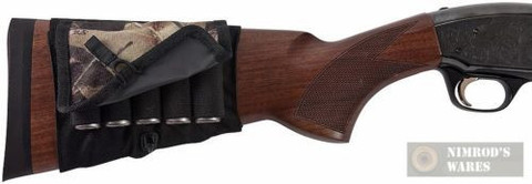 Allen Co. 2059 Buttstock Shotgun 5-Shell Holder w/ Camo Cover