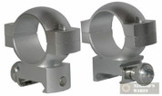 SIMMONS 800205 Weaver Style High Scope Rings (Silver)
