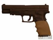 Hogue Handall Hybrid 17303 Springfield XD 9mm/40S&W/357Sig Grip