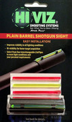 HiViz MPB Snap-On 12/16/20 Gauge Plain Barrel Shotgun Sight 4 Pipes