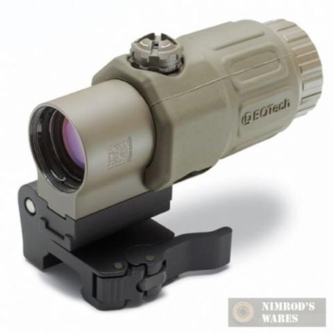 EOTech G33.STS Gen3 3.25X Magnifier w/ QD Mount (TAN)