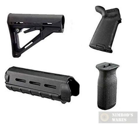 Magpul CTR MOE Kit, MIL SPEC, 4 Piece, Black