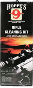 Hoppe's U22 Rifle 22-225 Cleaning Kit Solvent/Oil/Patches/Rod/Brush