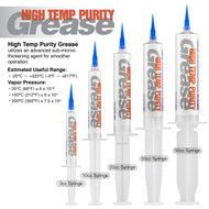 High Temperature Purity Grease Family