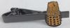 Yellow Dalek Tie Clip