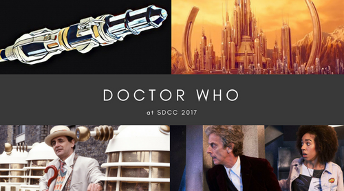 Anything and Everything 'Doctor Who' at SDCC 2017