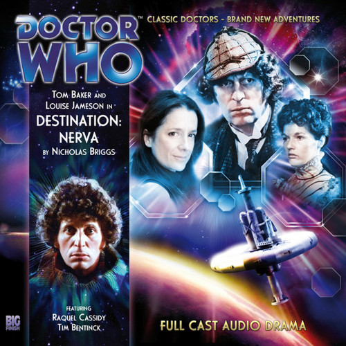 The 4th Doctor Stories #1.1 - Destination Nerva - Big Finish Audio CD (4S/A)