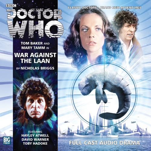 The 4th Doctor Stories #2.3 - War Against the Laan - Big Finish Audio CD