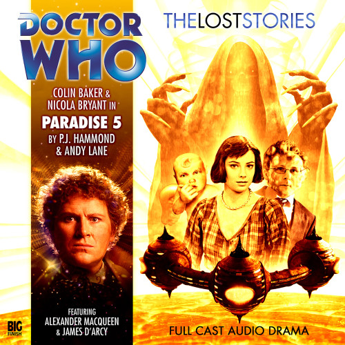 Paradise 5 - The 6th Doctor's Lost Stories #1.05 - Big Finish Audio CD