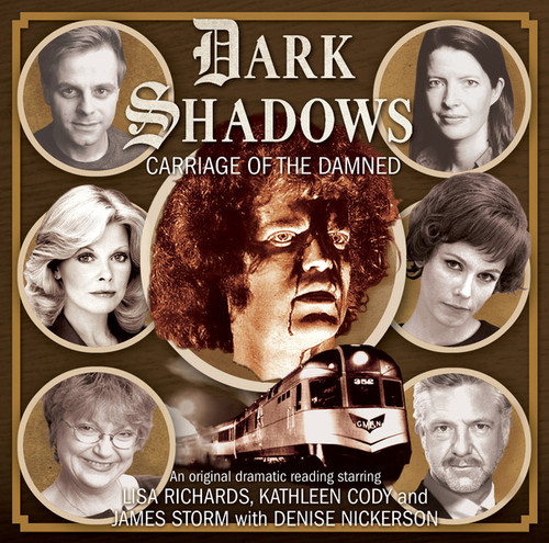 Dark Shadows: CARRIAGE OF THE DAMNED - Audio CD #42 from Big Finish