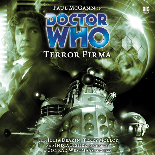 Terror Firma Audio CD - Big Finish #72