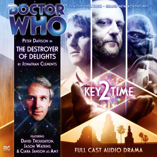 Key 2 Time - Destroyer of Delights Big Finish Audio CD #118