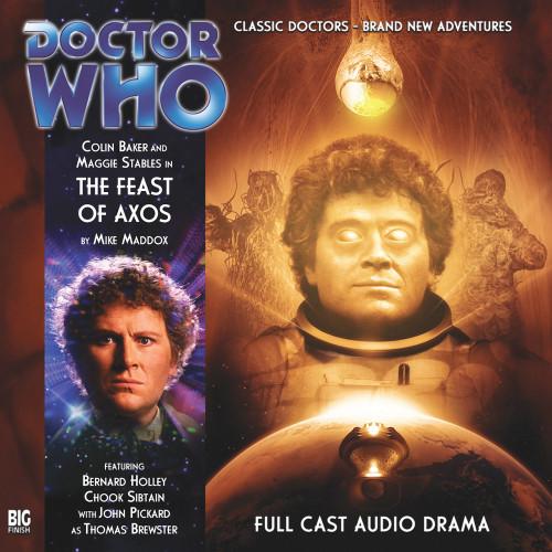 The Feast of Axos - Big Finish Audio CD #144