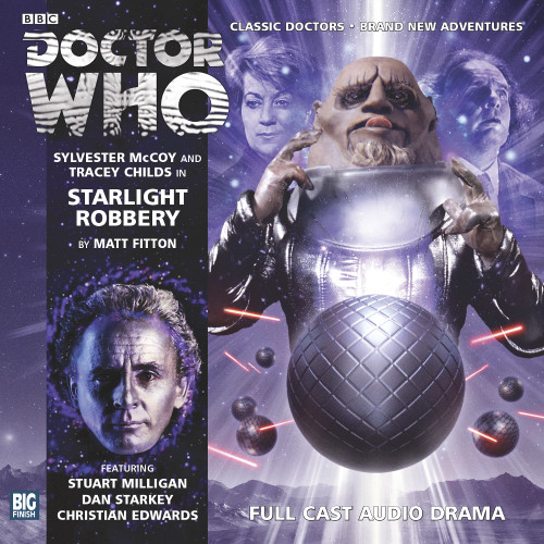 Starlight Robbery - Big Finish 7th Doctor Audio CD #176