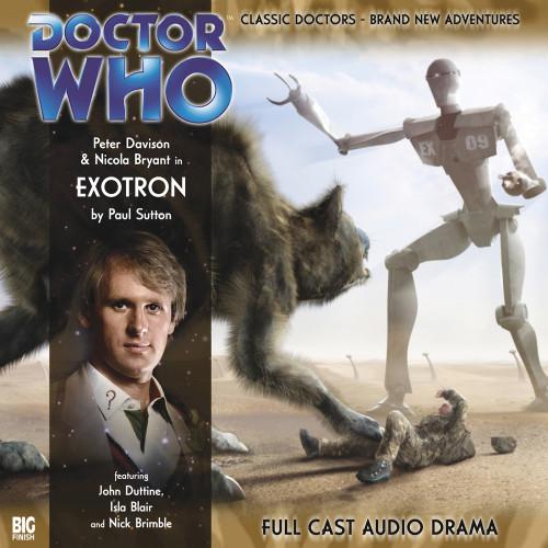 Exotron Audio CD - Big Finish #95