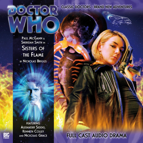The Eighth Doctor Adventures 2.7 - Sisters of the Flame Big Finish Audio CD