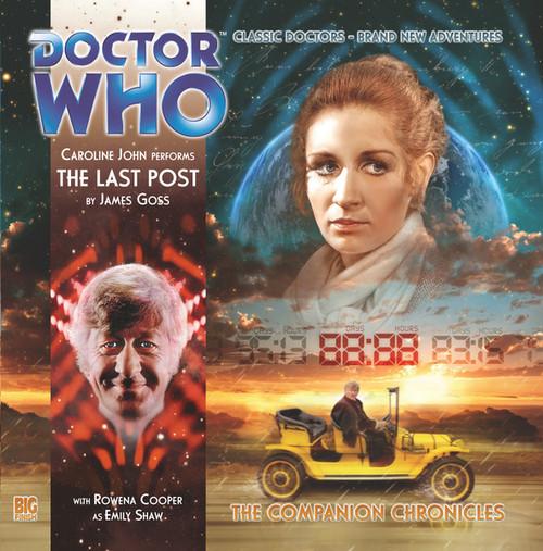 Companion Chronicles - The Last Post - Big Finish Audio CD 7.4