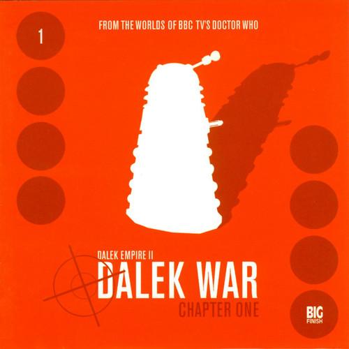Dalek Empire: Dalek War Chapter 1- Big Finish Audio CD