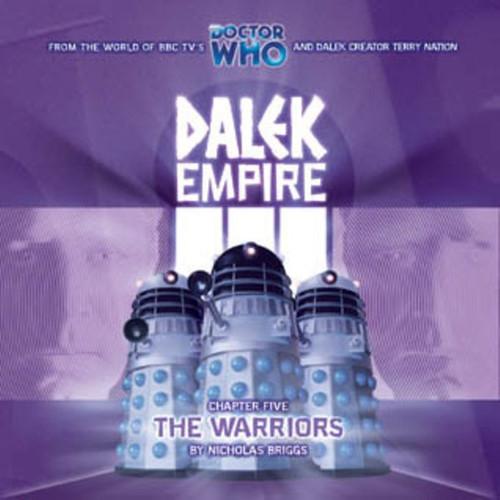 Dalek Empire: The Warriors-Big Finish Audio CD