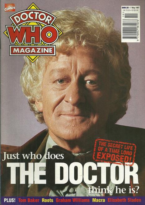 Doctor Who Magazine #251
