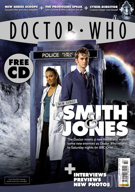 Doctor Who Magazine #380 with FREE Big Finish CD