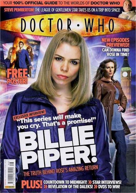 Doctor Who Magazine #396 - Includes FREE Billie Piper Poster