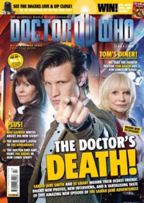 Doctor Who Magazine #427