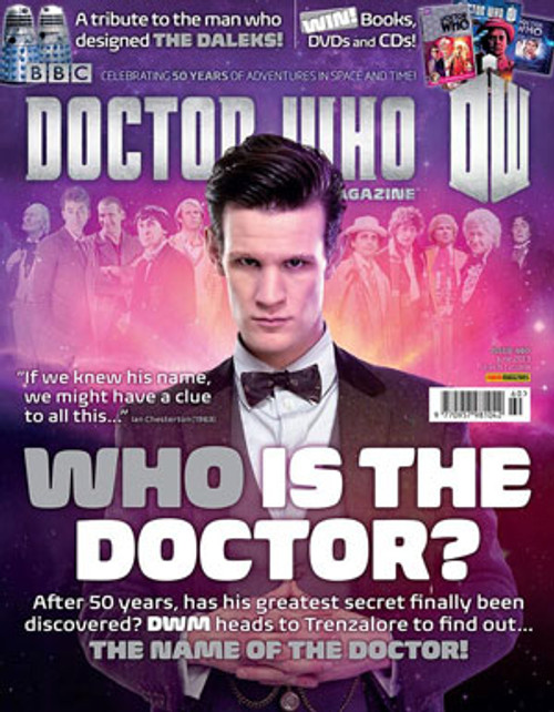 Doctor Who Magazine #460: The Name of the Doctor!