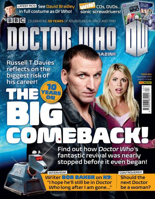 Doctor Who Magazine #463 - 10 Years on - The Big Comeback!
