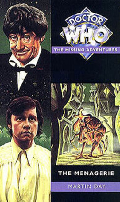 The Menagerie by Martin Day Paperback Book