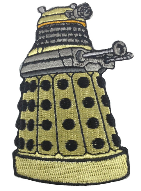 Yellow Dalek Patch