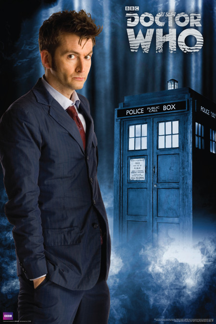 """10th Doctor Poster 24"""" X 36"""""""