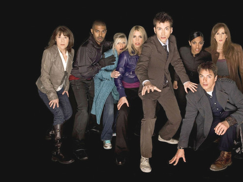 Doctor Who Series 4 Cast Print