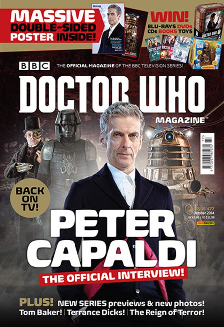 Doctor Who Magazine #477 - Peter Capaldi Interview