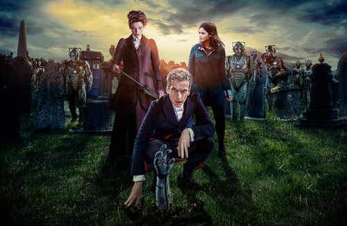 12th Doctor and Cybermen Print