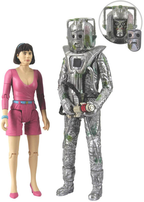 Peri and Cyberman - Action Figure Set from Attack of the Cybermen