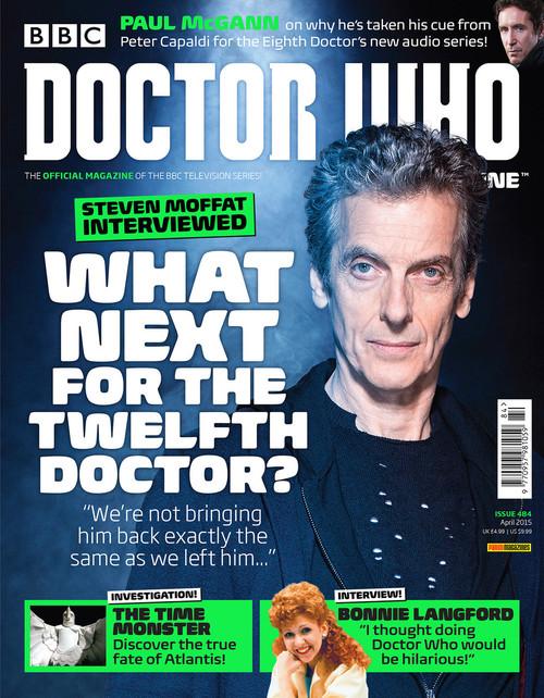 Doctor Who Magazine #484 - Steven Moffat Interviewed