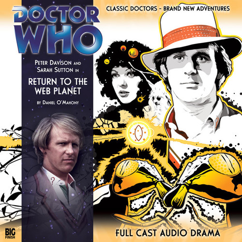 VI RETURN TO THE WEB PLANET - Subscriber Special Big Finish Audio CD