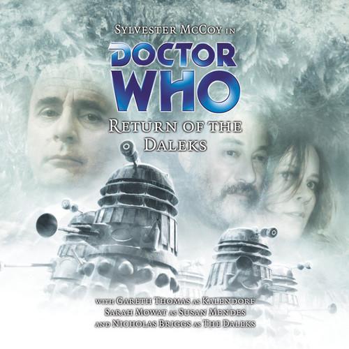 V RETURN OF THE DALEKS - Subscriber Special Big Finish Audio CD