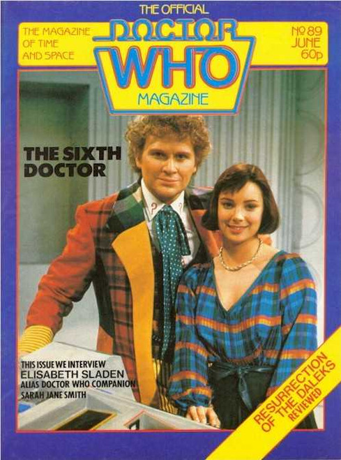 Doctor Who Magazine #89