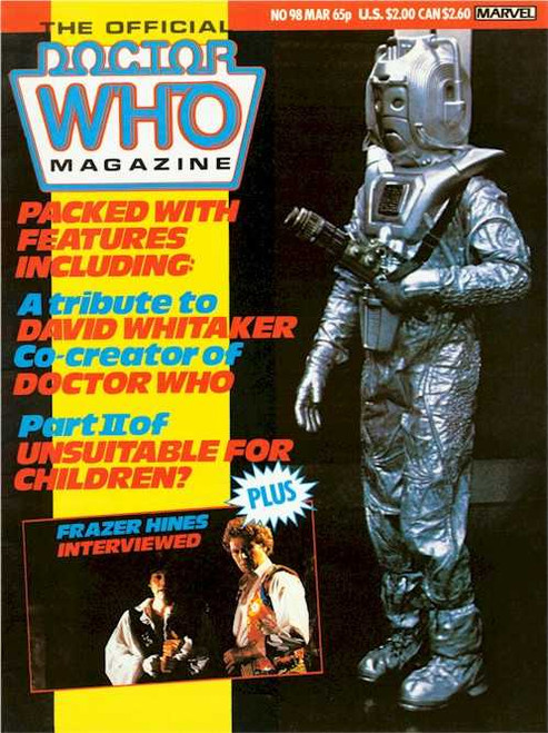 Doctor Who Magazine #98