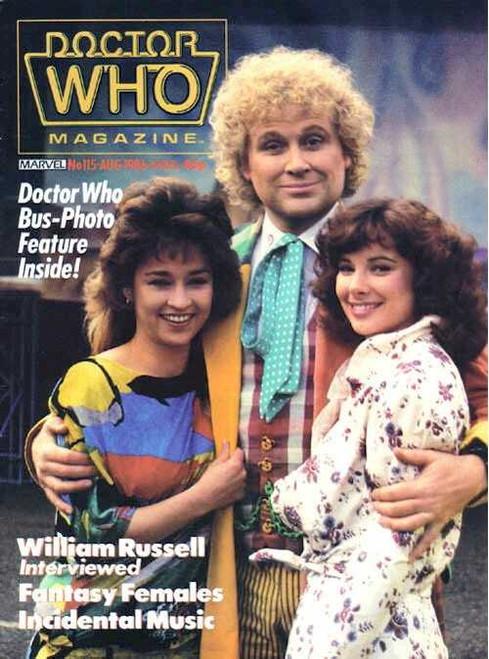 Doctor Who Magazine #115