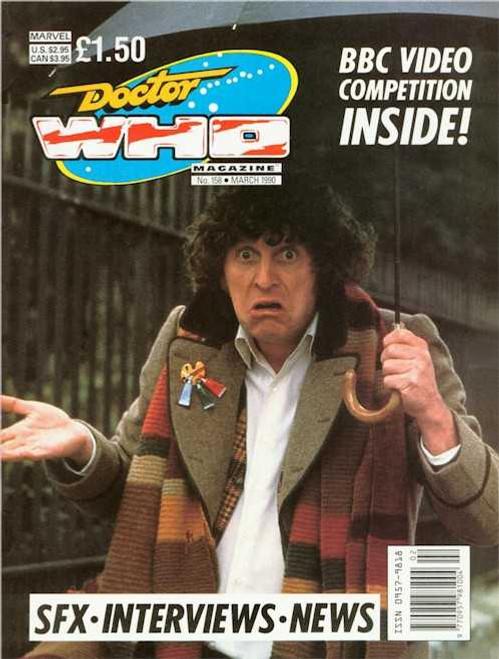 Doctor Who Magazine #158