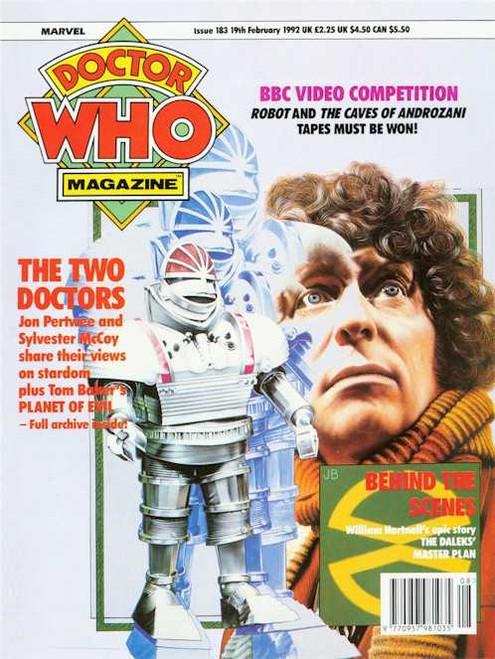 Doctor Who Magazine #183
