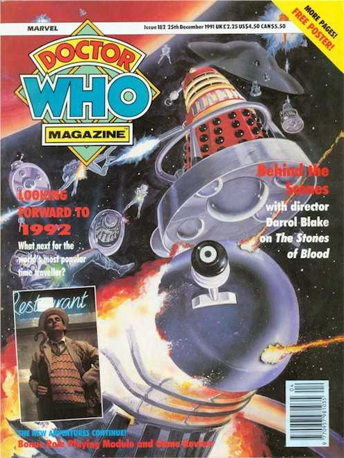 Doctor Who Magazine #182