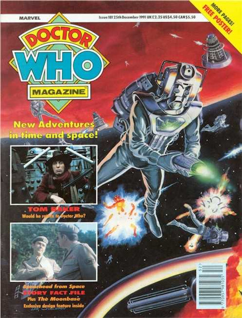 Doctor Who Magazine #181