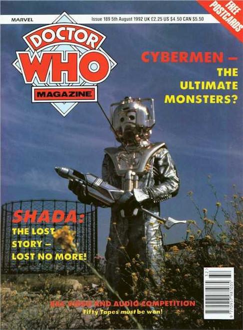 Doctor Who Magazine #189