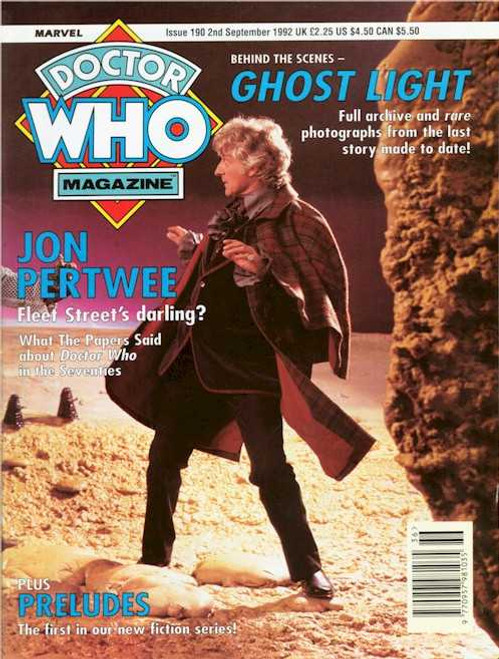 Doctor Who Magazine #190