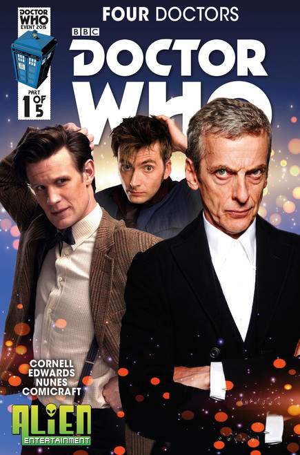 Four Doctors 2015 Event Titan Comics #1 (Alien Entertainment Exclusive)