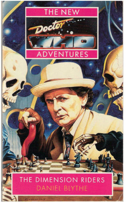 """""""Dimension Riders"""" New Adventures Paperback Book"""